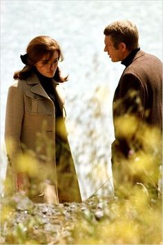 Jacqueline Bisset & Steve McQueen in Bullit (dir. Peter Yates,1968)