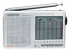 KA1103 SILVER AM FM SSB SHORTWAVE Radio with LCD Display, AC Adapter, Carrying Case, Wire Antenna, Ear Buds (Kaito) by ER-RADIO. $74.95. KA1103 AM FM SSB SHORTWAVE RADIO shortwave radio can decode SSB Single Side Band broadcasts through it's SSB circuitry, 1 kHz tuning steps and clarifier. It is much better than other radios costing much more and in a smaller size. 268 memories (19 pages) can store your favorite stations. It comes with a 1 year USA warranty, a USA ...