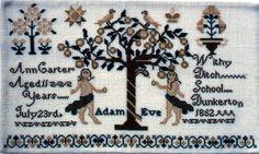 adam & eve samplers