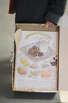 dawn tan's food illustration prints
