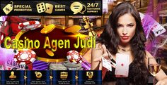 TOUCH this image: Casino Agen Judi Baccarat Roulette Dadu Kecil Online Terp... by Clarisa Kartina
