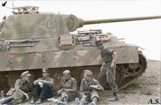 Panther Ausf. A, Panzer Regiment Großdeutschland, Kursk, 1943
