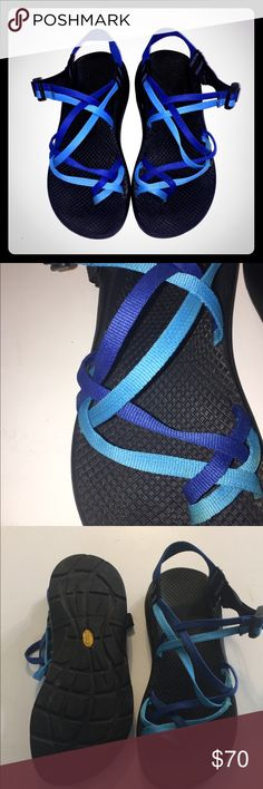 Chacos size 9 Like new chacos!! They have been worn 2x and have been sitting in my closet collecting dust! So cute and in perfect condition!! Chaco Shoes Sandals