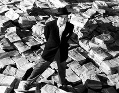#1 Citizen Kane -- A film à clef that examines the life and legacy of Charles Foster Kane, played by Orson Welles, a character based in part upon the American newspaper magnate William Randolph Hearst and Welles's own life.