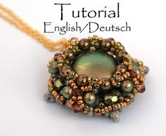 Beading Pattern for pendant Rondo (14 pages, with photos and text) in pdf-format.