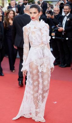 All of the fabulous celebrity fashion from Cannes 2017!