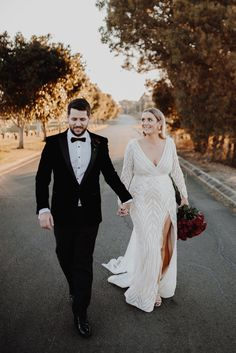 a lace A-line wedding dress with a deep neckline, long sleeves, a front neckline and a train Plus Size Wedding Gowns, Dream Wedding Dresses, Bridal Dresses, Civil Wedding Dresses, Couture Wedding Gowns, Courthouse Wedding Dress, Curvy Bride, Grace Loves Lace, Wedding Attire