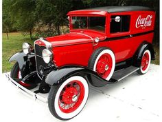 1931 Ford Model A panel delivery truck.