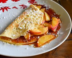 Apple Cinnamon Crepes | Easy Crepes Recipe | Pantry34