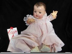 Effanbee Dolls, Doll Shop, Vintage Accessories, Boudoir, Baby Dolls, Doll Clothes, Temple, Merry Christmas, German