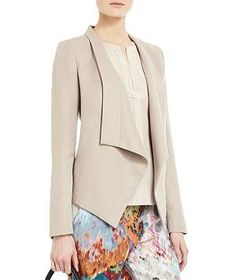BCBGMaxAzria Abree Relaxed Jacket   Whether you're looking to add polish or an extra layer, try one of these picks on for size.