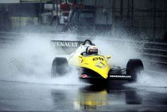 Alain Prost, Monaco 1983, Renault RE40