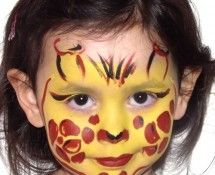 giraffe face paint wexford. Black Bedroom Furniture Sets. Home Design Ideas