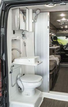 Travato | Interior | Bedroom And Bathroom | Winnebago RVs