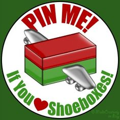 If you pack shoeboxes for Operation Christmas Child, then Pin this to your Board!