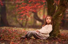 Autumn child photography http://www.sarahjevans.com