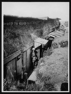 Captured German dug-out Headquarters, France, probably 1918 | Flickr - Photo Sharing!
