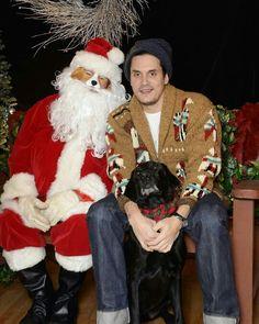Moose and John Mayer Holiday 2015                                                                                                                                                     More