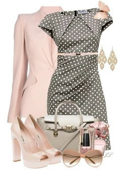 I so wish I could actually wear this! :( Luxury women dresses All kinds of Christian Louboutin shoes/heels here , Komplette Outfits, Fashion Outfits, Womens Fashion, Classy Outfits, Dress Fashion, Derby Outfits, Fashion Hacks, Nike Fashion, Classy Dress