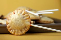 pie pops.  like cake pops, only using the universally superior pie for the pop part.