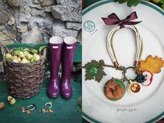 autumn in DaWanda Candy Bracelets – bracelet AUTUMN IS COMING – a unique product by FabrykaPYRKI on DaWanda