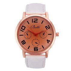 >> Click to Buy << Fashion Women Watch Roman Numerals Pattern Leather Band Analog Quartz Vogue Wrist relogio feminino Dropshipping Free Shipping#40 #Affiliate