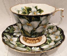 English Vintage ROYAL ALBERT Fine Bone China Tea by CupsAndRoses