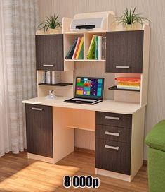 Study Table Designs, Study Room Design, Study Room Decor, Room Setup, Bedroom Wall Cabinets, Shelves In Bedroom, Corner Sofa Design, Living Room Sofa Design, Wall Shelf Decor