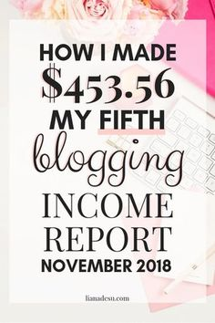 Income Report - February 2019 — liana desu