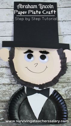 Fun crafts presidents day activities for kids 11 Abraham Lincoln Kostüm, Abraham Lincoln Birthday, Kindergarten Crafts, Preschool Activities, Preschool Assessment, Nanny Activities, Preschool Letters, Homeschool Kindergarten, Holiday Activities