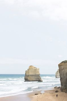 // let's go here: Great Ocean Road - Cereal Coast Australia, Australia Travel, Places To Travel, Places To Go, Minimal Photo, City Landscape, Ocean Photography, Turquoise Water, Byron Bay