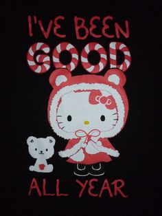 Torrid Hello Kitty 'I've Been Good All Year' Graphic Black T-Shirt Plus Size 4X   eBay