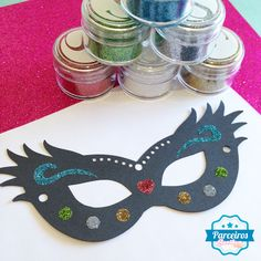 Máscara de Carnaval Silhouette
