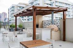 area de churrasco com pergolado Patio Design, House, Exterior, Outdoor Structures, Furniture, 1, Home Decor, Outdoors, Kitchen