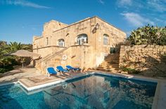 Gozo - La farmhouse dove alloggeranno Brad Pitt, Angelina Jolie