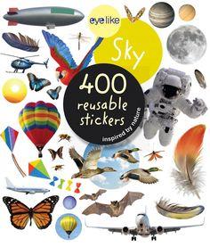 Eyelike Sticker Book: Sky Exploration w/400 Reusable Stickers