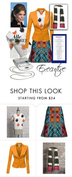 Executive Woman by funstyles-1 on Polyvore featuring Doublju, Hervé Léger and Tevolio