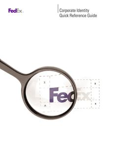 Fedex brand book brand book brand guide and brand guidelines pronofoot35fo Image collections
