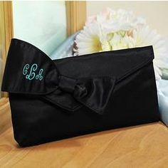 Bridesmaid Clutch with Survival Kit #wedding