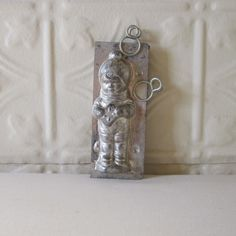 Chocolate Mold of French Boy with Biscuit Cookie by GardenBarn, $95.00