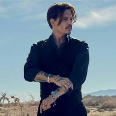 Johnny Depp is the new face of Dior! The Commercial is out 8/19/15.