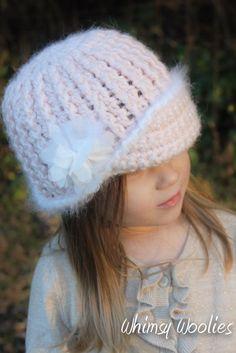 Crochet Pattern: 'Vintage Twist' Crochet hat by whimsywoolies
