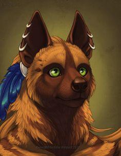 Kikivuli Portrait by Shadow-Wolf on DeviantArt