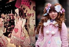 Gothic & Sweet Lolita decora street fashion photos from Harajuku! Cute kawaii Japanese girls clothing, hair and accessories.    Plus Tokyo, Japan shopping + clubbing + travel tips. Take a peek:    http://www.lacarmina.com/blog/2012/10/gothic-lolita-harajuku-street-style-snaps-trendy-japanese-girls-fashion-style-escala-magazine-mexico/