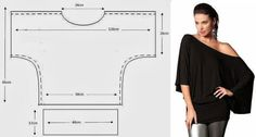 Not in English, but easy to follow picture patterns with dimensions of several different style diy tops! Awesome!!!