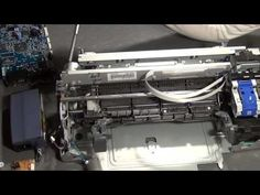 How to Salvage Usefull Parts from Printers and Scanners - YouTube
