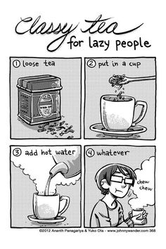 I've been tempted to do this before... but my love of tea always prevails ;)