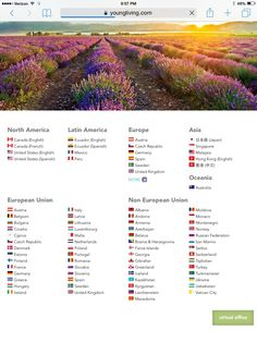 Yes! You to can get these awesome Young Living products in your country. I took a screen shot of their website to show all the countries Young Living sells to. Massive! Do not hesitate. Follow…