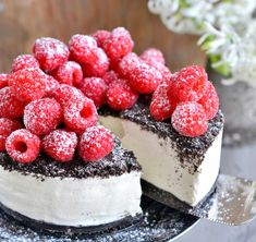 r - Franciskas Vakre Verden Oreo Dessert, Dessert Drinks, Yummy Drinks, No Bake Desserts, Delicious Desserts, Foods Without Sugar, Norwegian Food, Danish Food, Drip Cakes