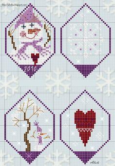♥ ♥ cross stitch Archives: WINTER SCENE CROSS STITCH